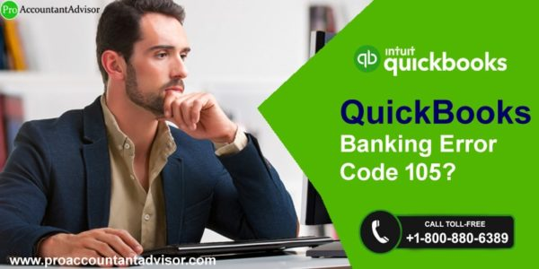 Fix, Resolve QuickBooks Online Banking Error 105 | My