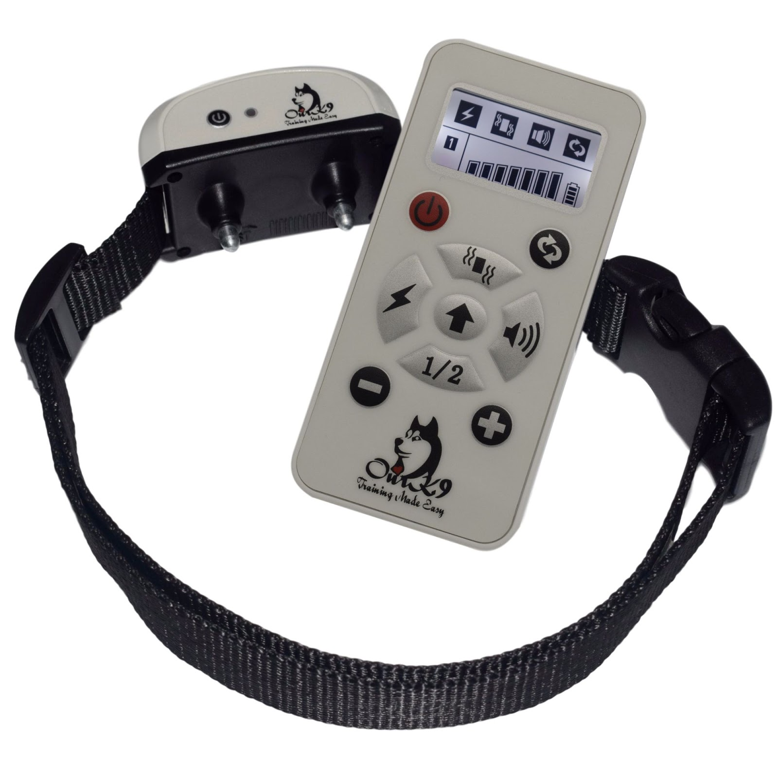 a0f33b6b676b I received a Our K9  IVORY  Remote Training Collar from Our K9 in exchange  for an honest review. I really like this product for training my dog when  he is ...