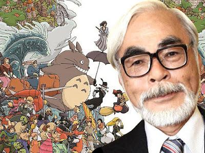 Cineasta animación Hayao Miyazaki