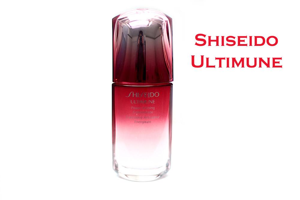 shiseido ultimune concentré energisant pré-soin avis test
