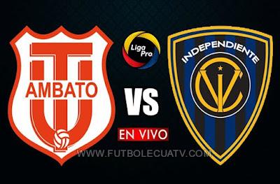 Técnico Universitario choca ante Independiente del Valle en vivo 📲 desde las 20h10 hora local por la fecha 17 de la Liga Pro 🔴 a efectuarse en el estadio Bellavista de Ambato, siendo el árbitro principal José Tapia con transmisión del canal oficial GolTV Ecuador.