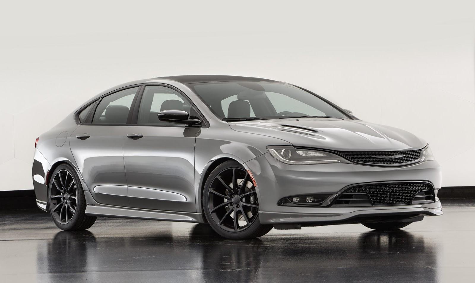 Chrysler Gives 200 S A Mopar Style Attitude Adjustment