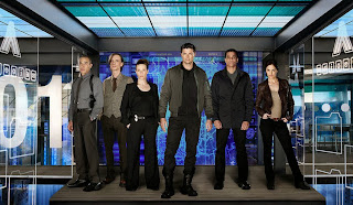 Image result for Almost Human skin episode