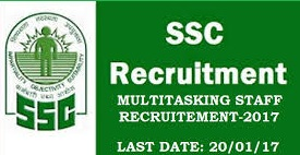 SSC MTS (Non-Technical) Recruitment 2016
