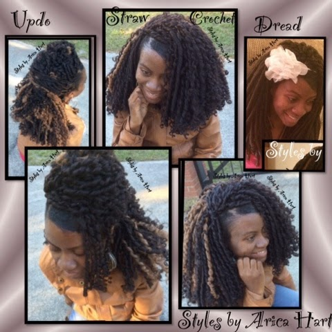 ... variety of crochet hair style : 3 styles out of one crochet hair style