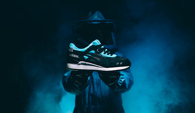 Asics Tiger, Gel-Lyte III, Xylocopa bombylans, Blue Carpenter Bee, Solebox, sneakers, Asics Lifestyle, Suits and Shirts, sportwear,