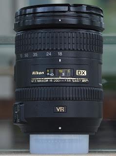 Jual Lensa Nikon 18-200mm VR2 Bekas