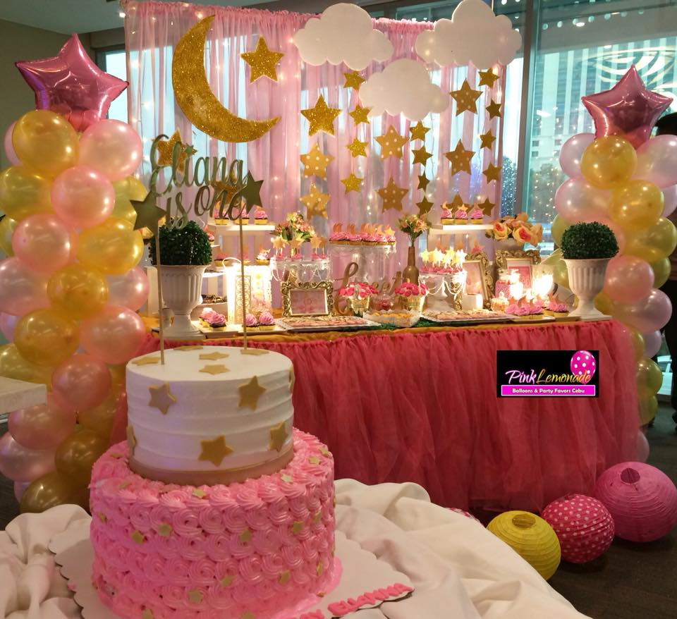 Pink Lemonade Balloons And Party Favors Cebu Twinkle