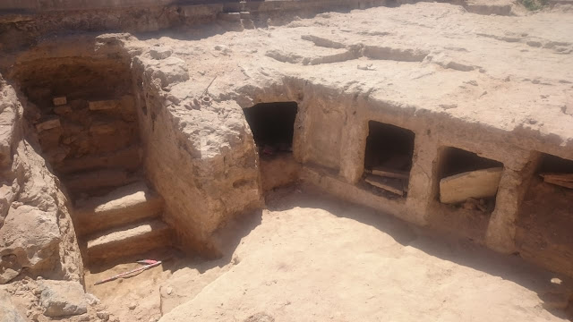 Ptolemaic rock-cut tombs discovered in Alexandria