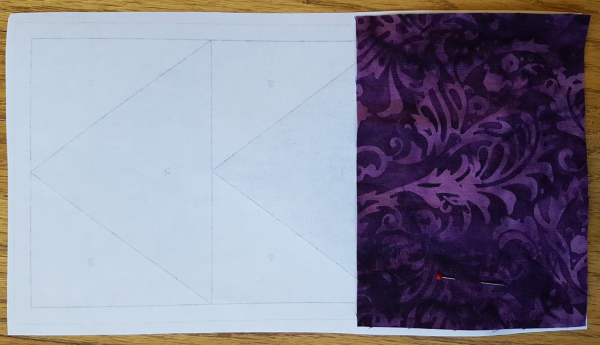 foundation pieced flying geese prep | DevotedQuilter.com