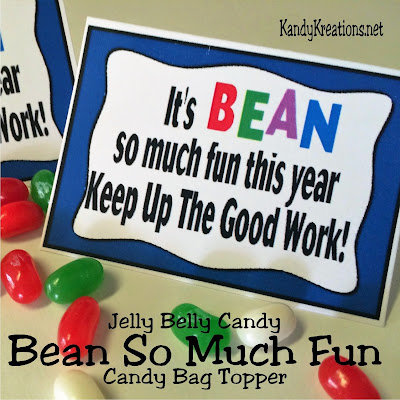Encourage your team, class, or group to finish the year strong with this printable bag topper.  When filled Jelly Belly beans are added to a little bag, these candies can remind your kids to keep up the good work.