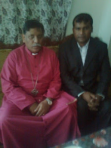 The Rt.Rev.Bishop Irfan Jamil in meeting with Advocate Sardar Mushtaq M.Gill