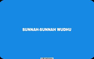 Sunnah wudhu