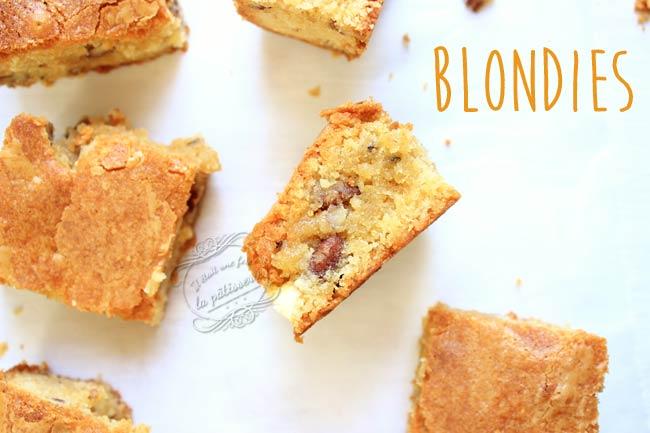 recette blondies