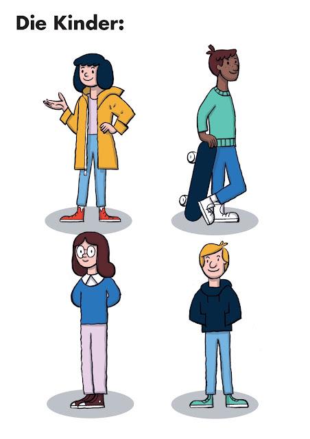 Jugendliche, Skater, Mädchen