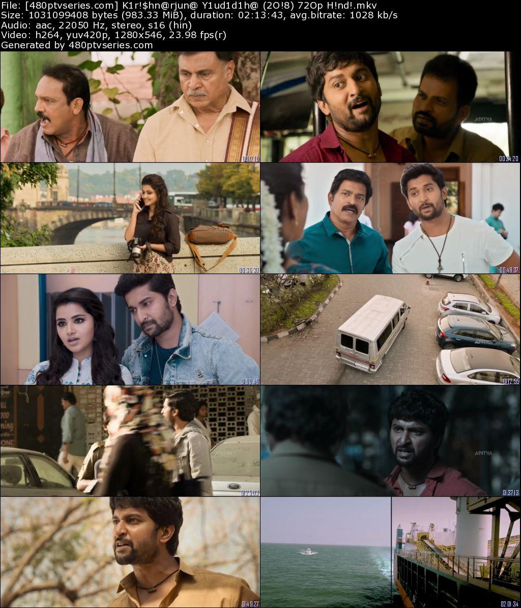Download Krishnarjuna Yuddham (2018) 950Mb Full Hindi Dubbed Movie Download 720p HDRip Free Watch Online Full Movie Download Worldfree4u 9xmovies