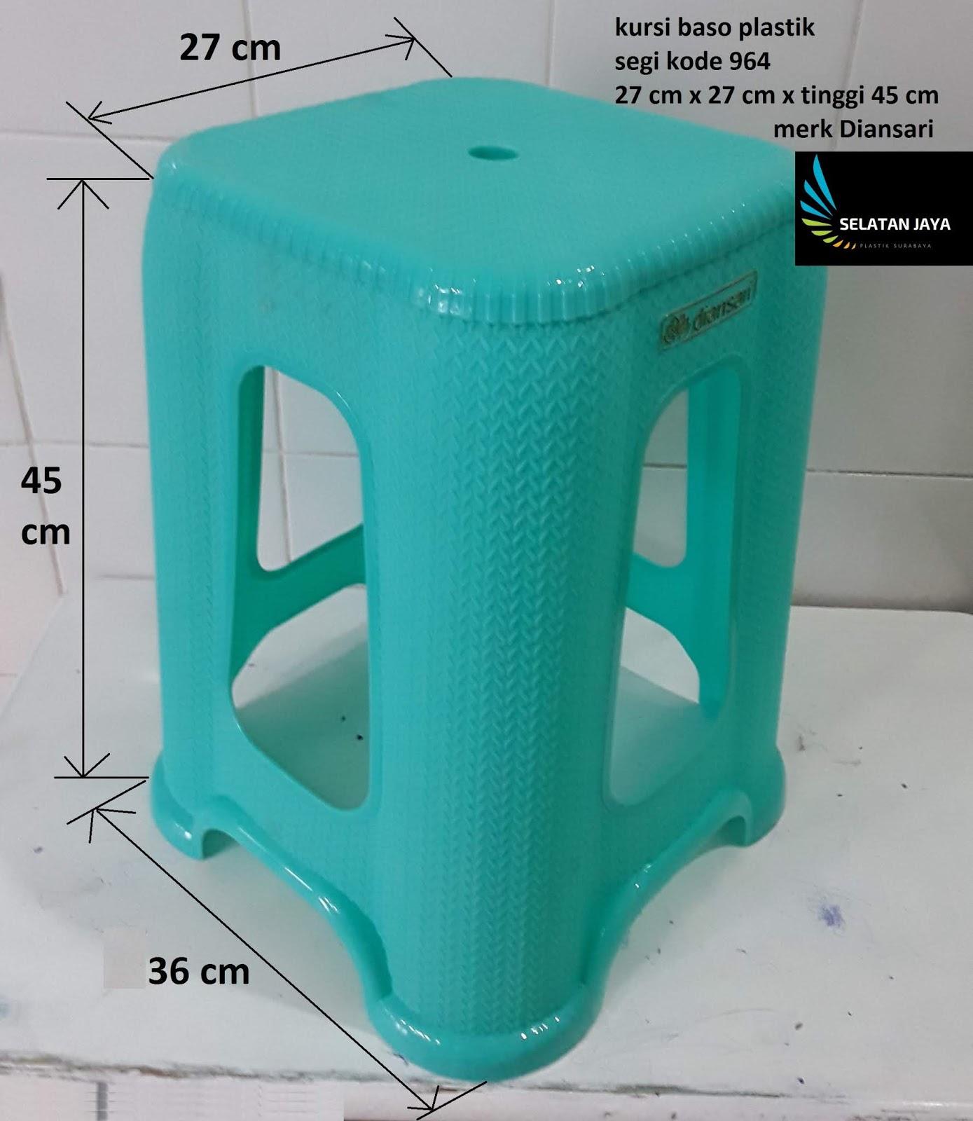 Kursi baso segi motif rantai kode 964 merk Diansari. kursi bakso plastik  tebal 1a62e5e1ef