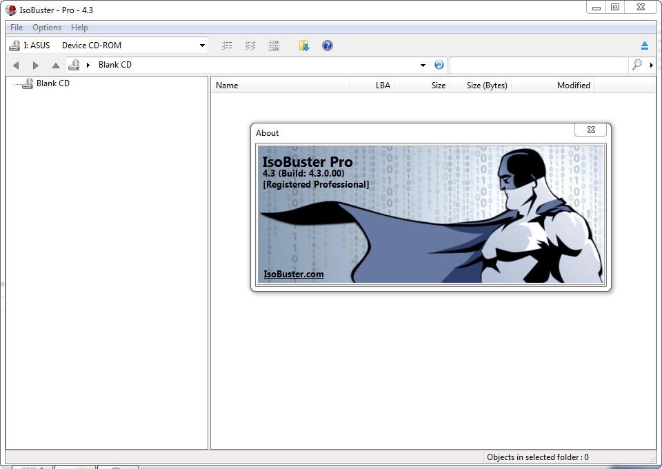 IsoBuster Pro v4.3 build 4.3.0.00 Full version