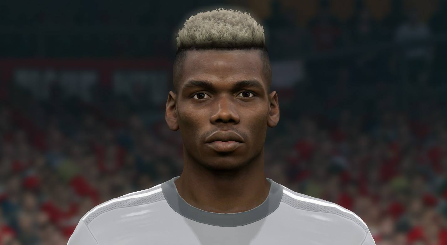 PES 2017 Paul Pogba Face by Sameh Momen