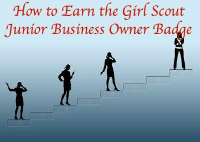 Here is a meeting plan for leaders on how to earn the Junior Girl Scout Business Owner badge.