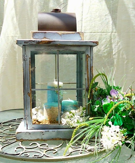 How to Build a Coastal Lantern