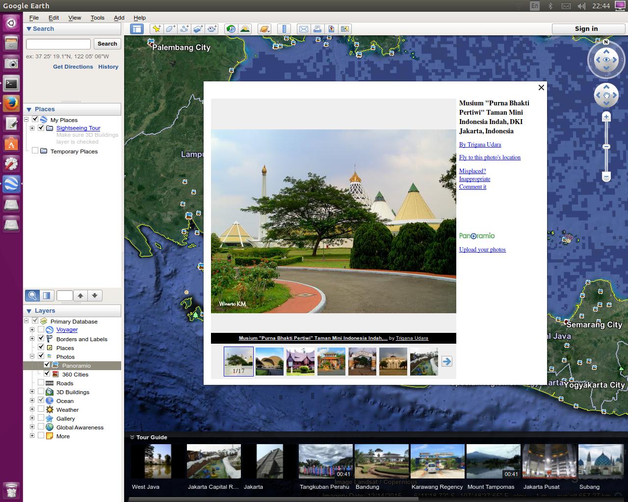 Install Google Earth 7 1 8 on Ubuntu and Linux Mint - The Ubuntu