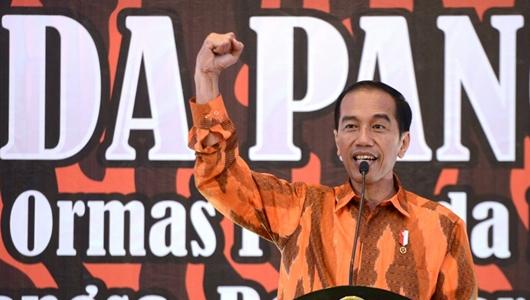 Pemuda Pancasila DKI Dukung Jokowi