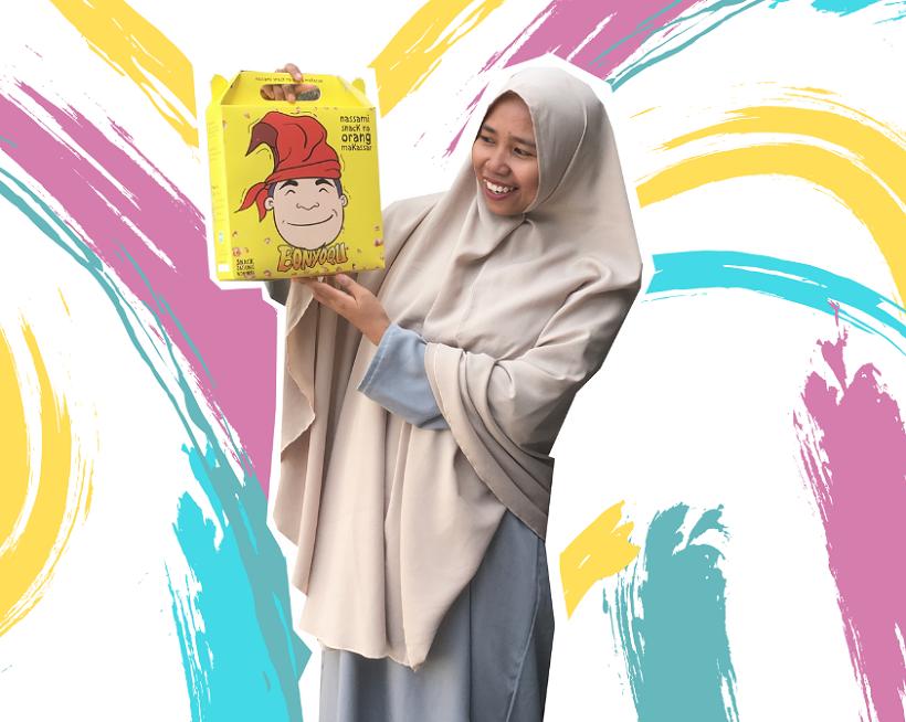 Review Oleh-Oleh Khas Makassar : Snack Jagung BONYOQU