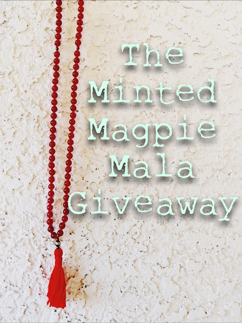 freebie, freebie friday, handmade jewelry, mala, mala necklace, free jewelry, contest, yoga jewelry