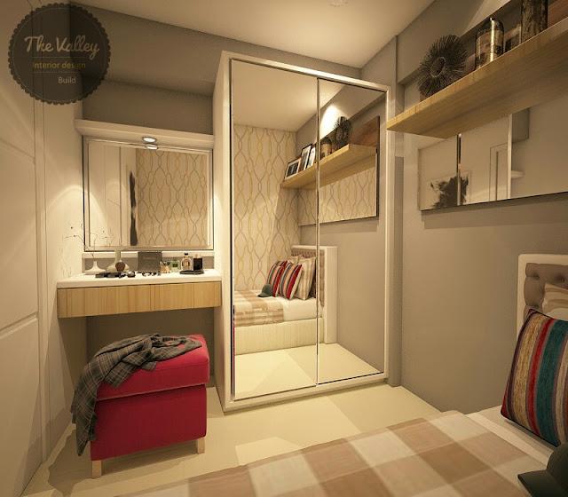 Desain Interior Kamar Apartemen - The Valley Interior Design
