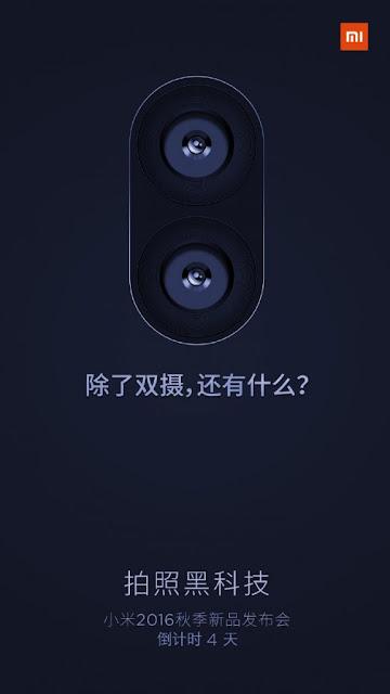 Smartphone terbaru Xiaomi akan menggunakan dual setup kamera belakang