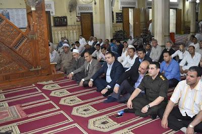 محافظ الفيوم يشهد الاحتفال بذكرى فتح مكة