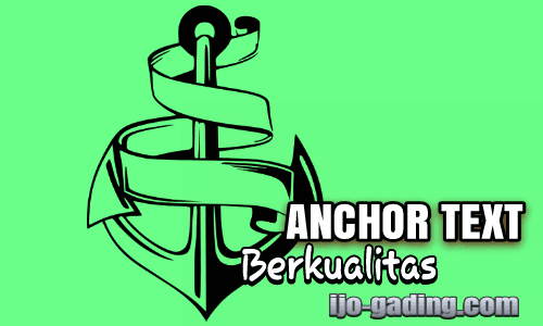 Cara membuat anchor text