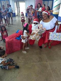 Crianças da Creche Mariany Vitória