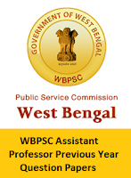 WBPSC Assistant Professor Previous Year Question Papers