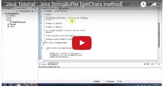 Java ee java tutorial java stringbuffer getchars method for Object pool design pattern java