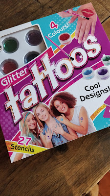 Interplay Fab Lab glitter tattoo set review