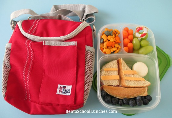 Sailor Bags Insulated Lunch Bag Review  and a sailboat lunch