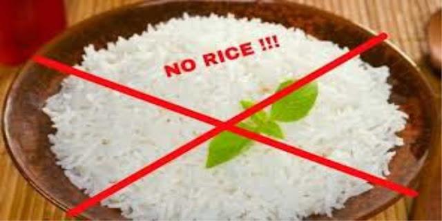 jangan makan nasi