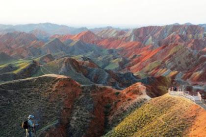 Inilah Video Gunung Pelangi  Seperti yang Diceritakan di Dalam Al-Quran