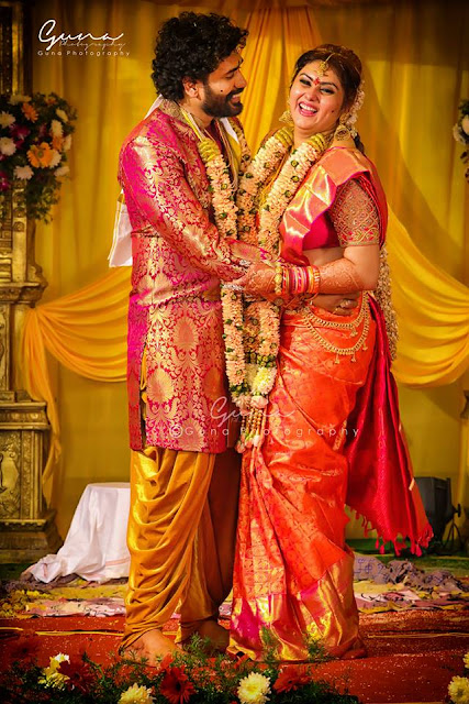 Actress Namitha Veera Wedding