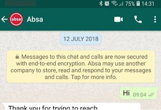 Cara Mendaftarkan Absa Bank Ke Akun Whatsapp