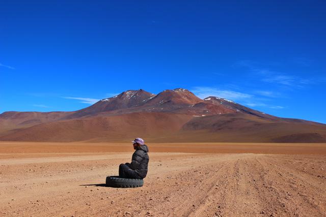El Desierto de Siloli, uno de los más secos del mundo, parte del desierto de Atacama