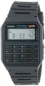 Classic 80s Calculator Watch by Casio