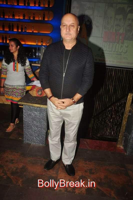 Anupam Kher at Dirty Politics film promotions,  Malaika Arora Khan, Nimrat Kaur, Shriya Saran,  Mallika Sherawat At Different Events