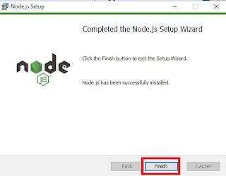 cara install npm