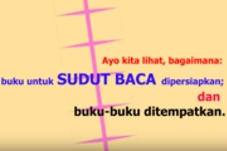 Video Tutorial Cara Membuat Sudut Baca di Kelas