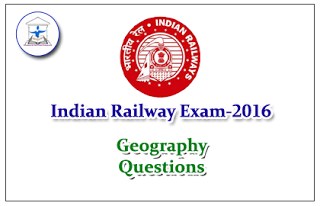 Railway Exam GK Quiz (Geography)