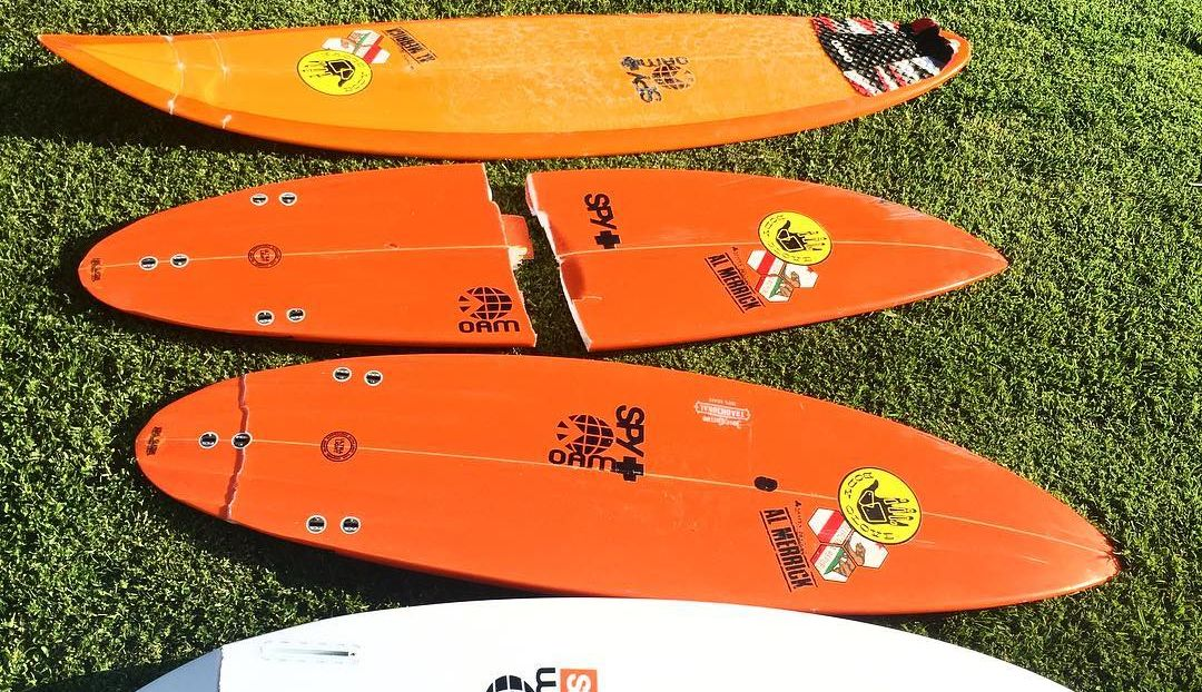 tablas surf rotas avion