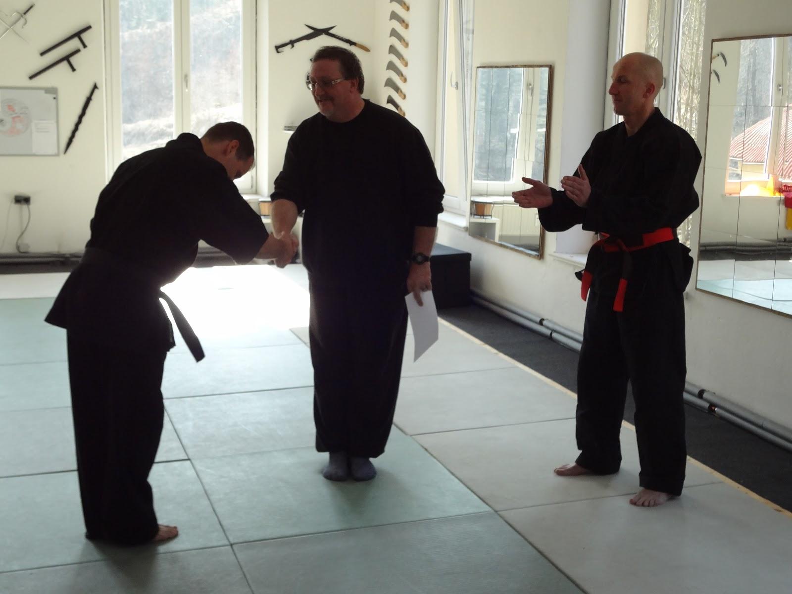 Verleihung 6. Dan Ju-Jutsu-Do